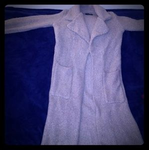 Zara Long Knit Cardigan